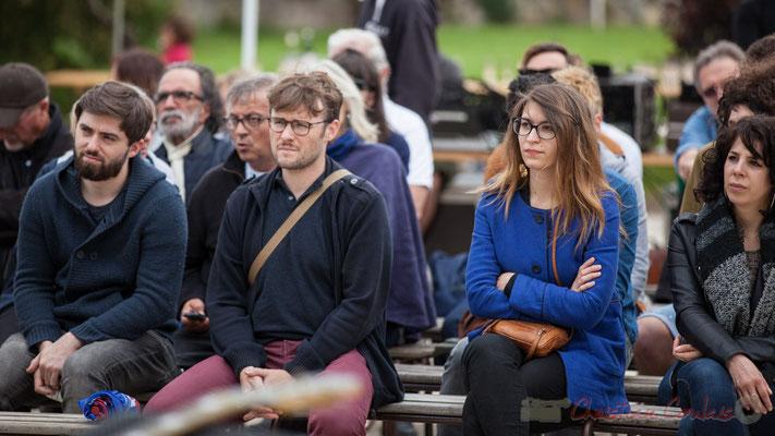 Un public toujours aussi nombreux à Quinsac, qu'il pleuve ou qu'il fasse beau. Festival JAZZ360 2016, 12/06/2016