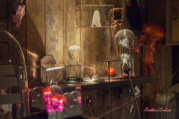 Le Ras d'eau, atelier de Sébastien Rideau, artiste plasticien. Le Verdon-sur-mer, samedi 3 juillet 2021. Photographie © Christian Coulais