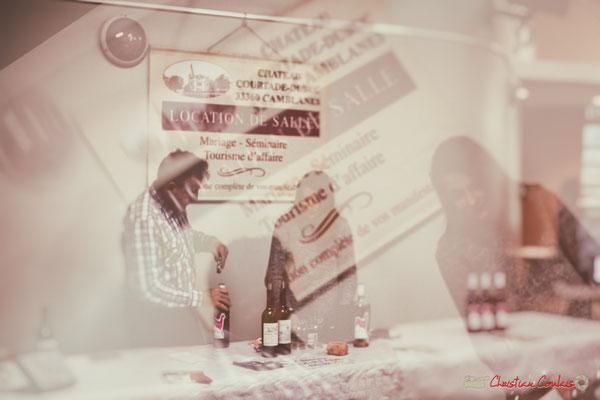 """""""Transmission du savoir de père en fille"""" Dégustation des vins du Château Courtade-Dubuc, Soirée-Cabaret JAZZ360, Cénac, samedi 4 novembre 2017"""