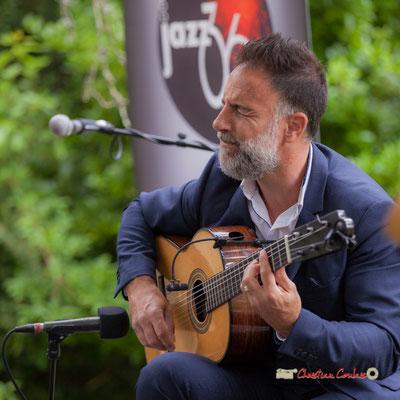 Nicolas Saez; Nicolas Saez Quartet. Festival JAZZ360, Château Duplessy, Cénac. 10/06/2019