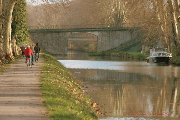 Le long du Canal latéral à la Garonne, Damazan