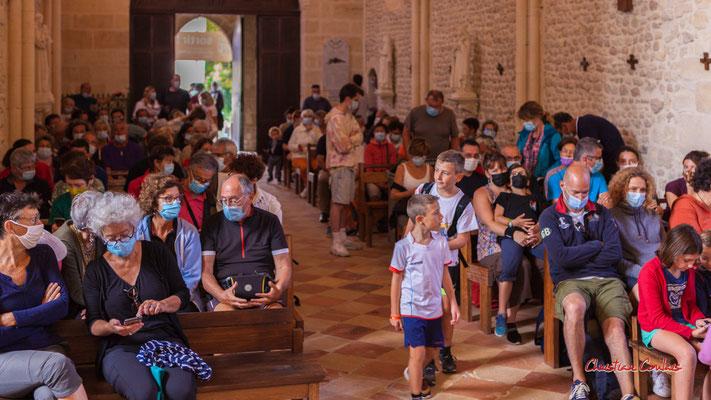 Concert de Raoul Vignal en l'église de Saint-Brice. Ouvre la voix, samedi 4 septembre 2021. Photographie © Christian Coulais