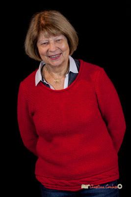 Michèle Pointet photographiée par Christian Coulais. Cénac, samedi 2 février 2019