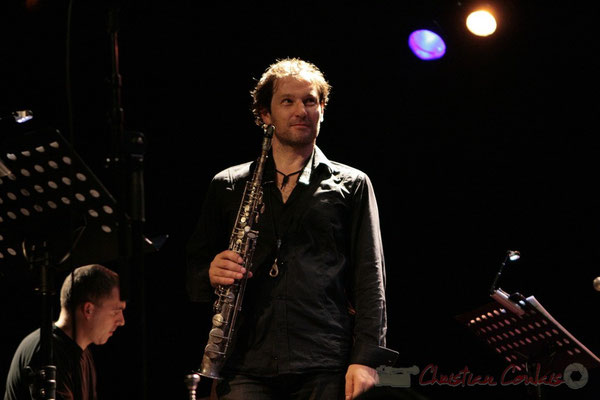 Jean-Yves Jung, Frédéric Borey; Roger Biwandu Quintet, Festival JAZZ360 2011, Cénac. 03/06/2011
