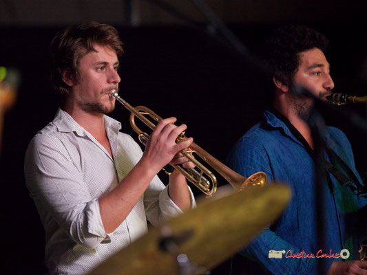 Paolo Chatet, Mathis Polack; le Parti Collectif. Festival JAZZ360 2019, Latresne, 09/06/2019