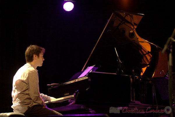 "Paul Lay; Frédéric Borey ""Lines"" Quartet, Festival JAZZ360 2012, Cénac. 08/06/2012"