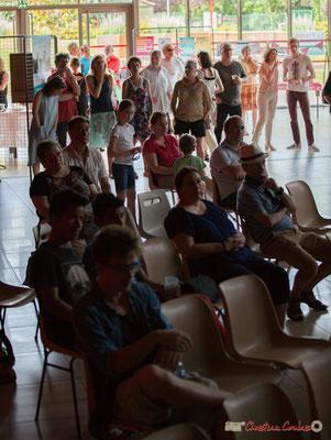 Plus de 120 personnes ont participé de près ou de loin au concert de soutien des Insoumis de la 12ème circonscription de la Gironde, malgré la chaleur. 28/05/2017, Targon
