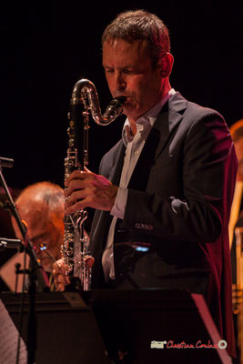 Thomas Savy; Medium Ensemble 3 de Pierre de Bethmann. Festival JAZZ360 2019, Cénac. 07/06/2019