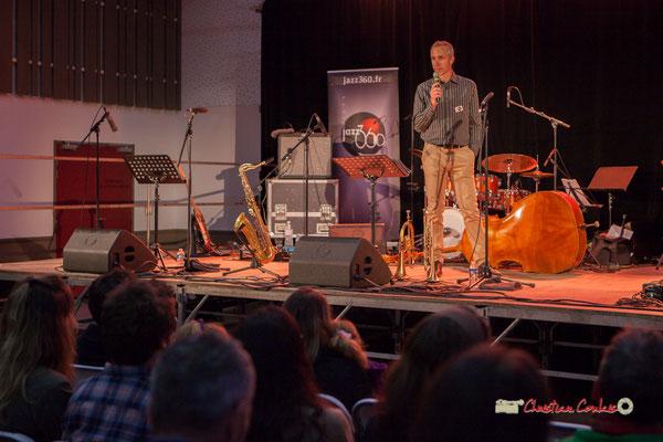 """Sébastien Murard, Adjoint au maire de Saint-Caprais-de-Bordeaux à la culture, """"Docteur Nietzsche fait son grand huit"""", Festival JAZZ360, 05/06/2019"""