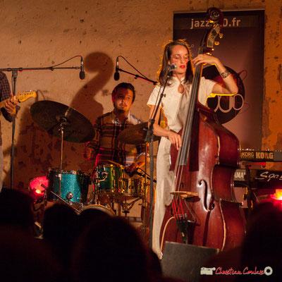 Nicolas Girardi, Laure Sanchez; Laure Sanchez Quintet, JAZZ360 au Domaine de Sentout, Lignan-de-Bordeaux. 08/09/2018