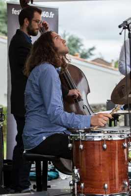 Alexis Valet Quartet : Jéricho Ballan, Aurélien Gody. Festival JAZZ360 2016, Quinsac