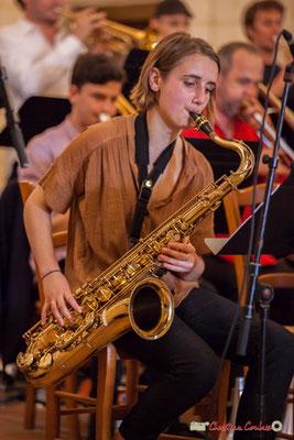 Stéphanie Furlan, Big Band Jazz du conservatoire de Bordeaux Jacques Thibaud. Festival JAZZ360 2018, Cénac. 09/06/2018