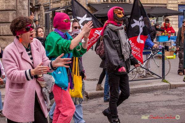 10h51 Alternative Libertaire et prostituées déterminées. Rue du Docteur Nancel-Pénard, Bordeaux. 01/05/2018