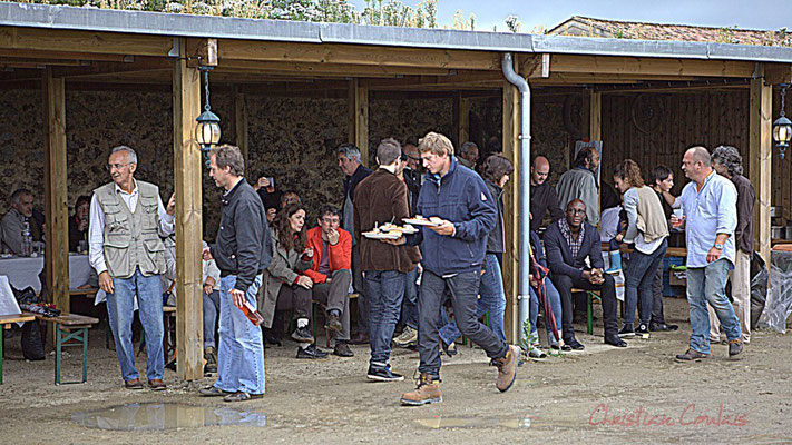 Restauration sur place. Festival JAZZ360 2012, château Lestange, Quinsac. Dimanche 10 juin 2012