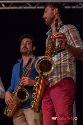Mathis Polack, Brice Matha; le Parti Collectif. Festival JAZZ360 2019, Latresne, 09/06/2019