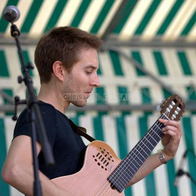 Festival JAZZ360 2014, Jordan Cauvin; Jazzméléon Trafic. Cénac, 07/06/2014