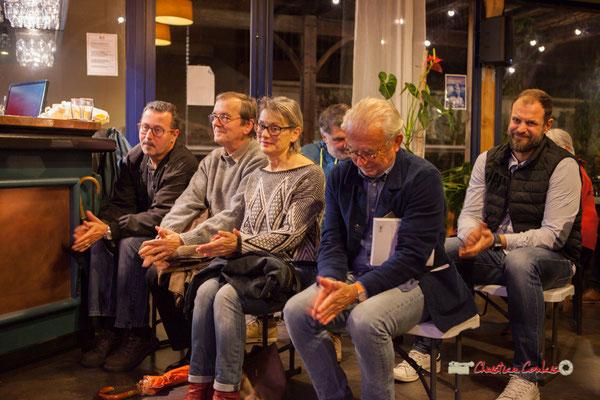 """Applaudissements. Témoignages collectifs autour de la pédagogie Freinet, du Groupe d'Actions Municipales, du """"Partage du pouvoir local"""". Créon, 22/10/2019"""