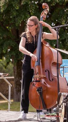 Nolwenn Leizour; Loïc Cavadore Trio. Festival JAZZ360 2019, Camblanes-et-Meynac. 08/06/2019