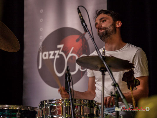 Simon Lacouture; le Parti Collectif. Festival JAZZ360 2019, Latresne, 09/06/2019