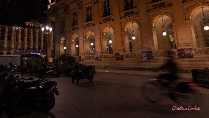 """""""Deux-roues"""" Grand-théâtre de Bordeaux. Mercredi 16 décembre 2020. Photographie © Christian Coulais"""