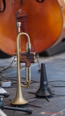 """""""Trompette de Jérôme Dubois"""" On Lee Way, Festival JAZZ360, Quinsac, 11/06/2017"""