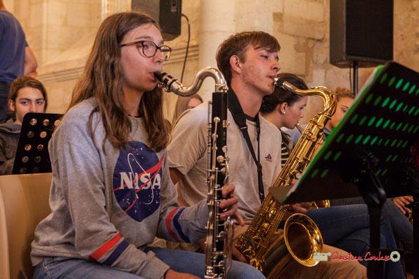 Classe Jazz du Collège Eléonore de Provence (Monségur). Festival JAZZ360 2019, vendredi 7 juin 2019.