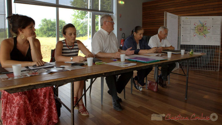 Premier Conseil consultatif citoyen du canton de Créon, salle Bellevue, Cambes