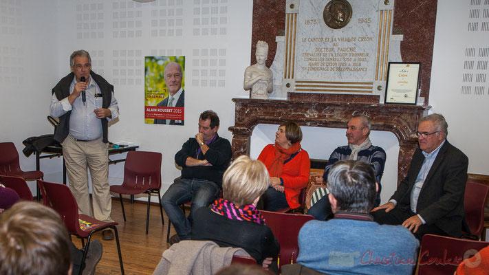 Pierre Gachet, Maire de Créon, Elections régionales, décembre 2015