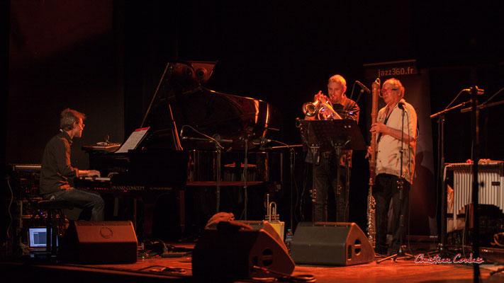 Xavier Duprat, Régis Lahontâa ; Christian Paboeuf Quartet. Festival JAZZ360 2021, Cénac, samedi 5 juin 2021. Photographie © Christian Coulais