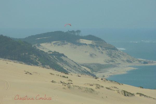La célèbre dune du Pilat culmine à une centaine de mètres. Espace Naturel Sensible, La Teste-de-Buch