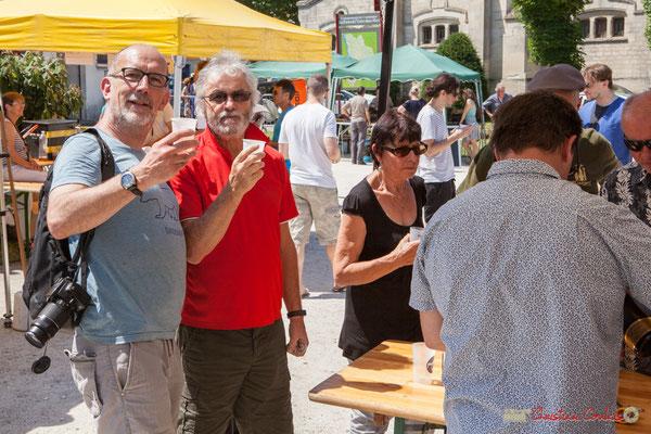 """""""Festival JAZZ360, une occasion de se retrouver entre ami-es"""" Vin d'Honneur offert par la Mairie de Quinsac, Festival JAZZ360, 11/06/2017"""