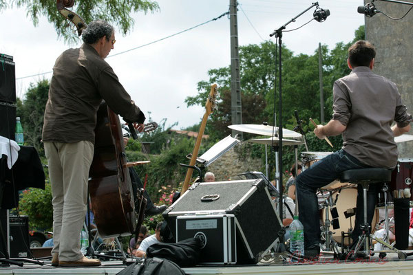 Iazid Ketfi, Didier Ottaviani; Philippe Bayle Trio. Festival JAZZ360, Quinsac. 05/06/2011