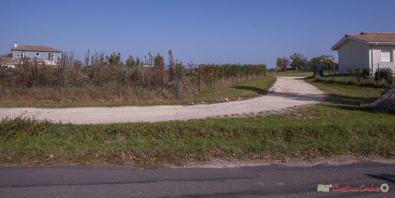 Habitats des années 2010. Avenue de Lignan, Cénac, Gironde. 16/10/2017