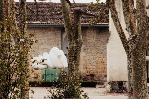 Château de Carignan, haut-lieu de l'art contemporain. Carignan-de-Bordeaux