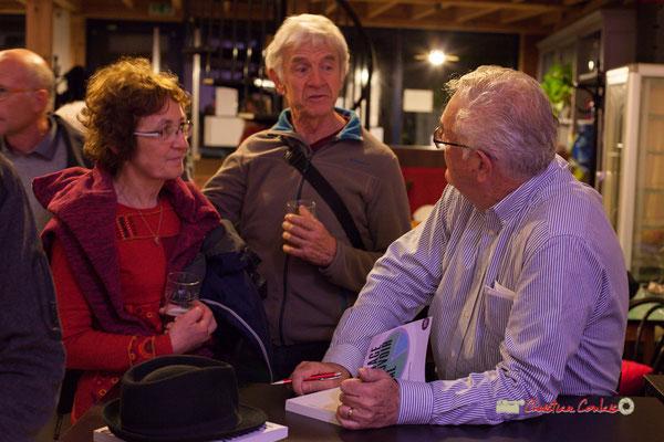 """Deuxième séance de dédicace du livre """"Le partage du pouvoir locale"""" par Jean-Marie Darmian, au BREC de Créon. 22/10/2019"""