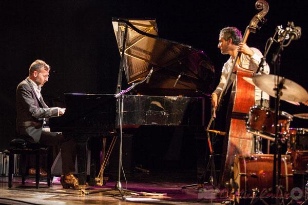 Trio Marcelle, Cédric Jeanneaud, Laurent Vanhée. Soirée Cabaret JAZZ360, Cénac, 05/11/2016