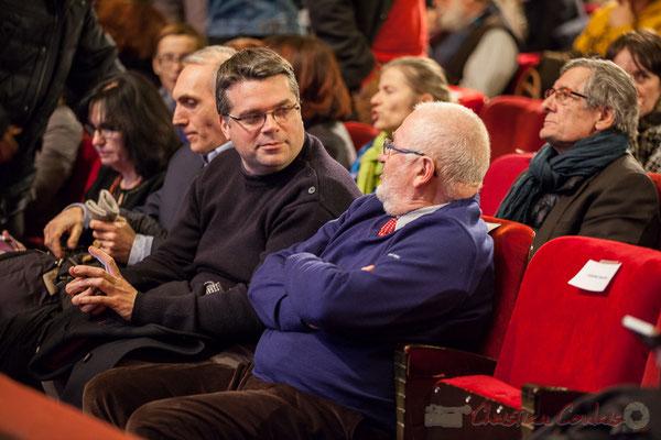 Dominique Fedieu, Conseiller départemental, Maire de Cussac-Fort-Médoc et Alain Renard, Vice-président du Conseil départemental de la Gironde, Maire de Saint-Savin. 1