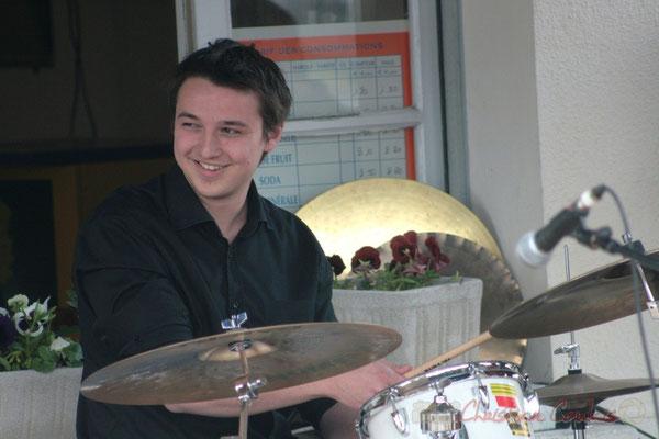 Hugo Raducanu. Ateliers Jazz des Conservatoire d'Agen, Bordeaux, Mont-de-Marsan. Festival JAZZ360 2010, Cénac. 16/05/2010