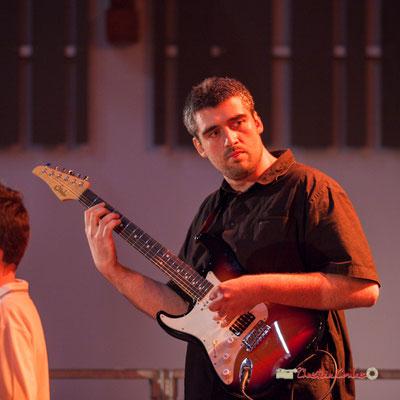 Jean-François Valade. Concerts des écoles de musique de la CDC des Portes de l'Entre-Deux-Mers. Festival JAZZ360 2019, Saint-Caprais-de-Bordeaux. 05/06/2019