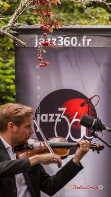Clôture du 10ème anniversaire du Festival JAZZ360 2019 avec Nicolas Saez Quartet au Château Duplessy, Cénac. Lundi 10 juin 2019