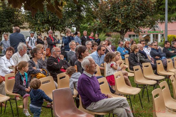 Atelier Jazz du Conservatoire Régional de Bordeaux Jacques Thibaud, Place du bourg, Cénac, 11/06/2016