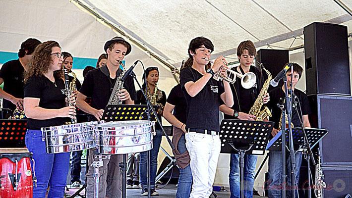 Big Band Jazz du Collège Eléonore de Provence (Monségur), Festival JAZZ360 2012, Cénac, 08/06/2012