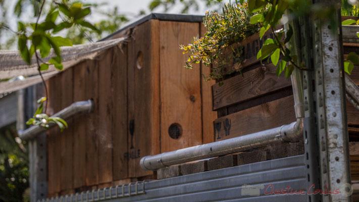 Le collectionneur de l'ombre; Antoine Ruellan, paysagiste DPLG; Yves Philippot, directeur technique et animalier Parc de Branféré; France. Mercredi 26 août 2015. Photographie © Christian Coulais