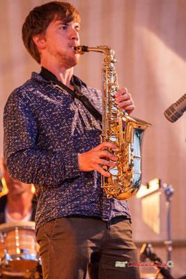 Joachim Poutaraud; Adrien Brandéis Quintet, Festival JAZZ360 2019, Langoiran. 06/06/2019