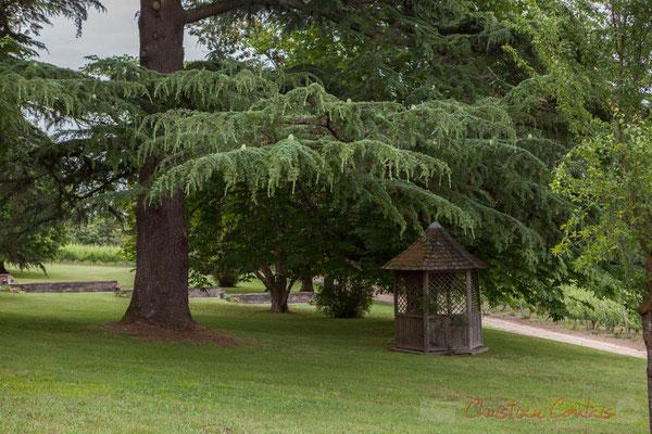 Parc du Château Duplessy, Cénac. Randonnée pédestre Jazz360 2016, de Cénac à Quinsac, 12/06/2016