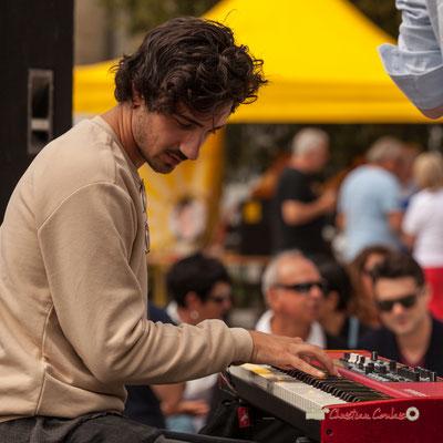 Edward Rogers; Atelier Jazz du Conservatoire Jacques Thibaud, Festival JAZZ360 2019, Quinsac, 09/06/2019