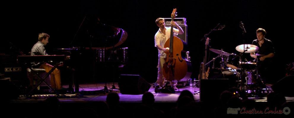Rappel. Festival JAZZ360 2015, Laurent Coulondre, Rémi Bouyssière, Martin Wangermée; Laurent Coulondre Trio. Cénac, 12/06/2015