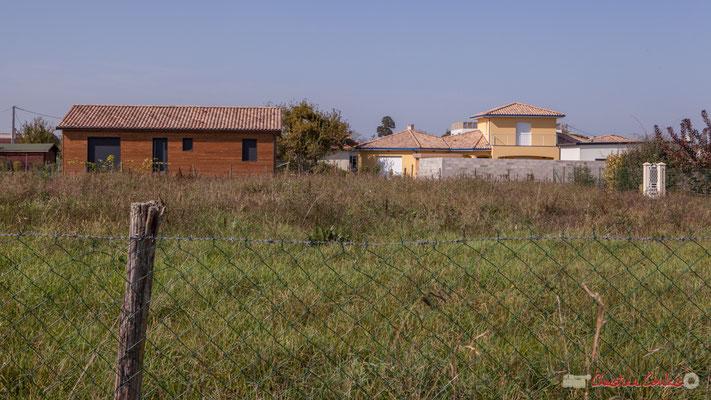 1 Terrain constructible, côté ouest. Allée du Cloutet, Cénac, Gironde. 16/10/2017