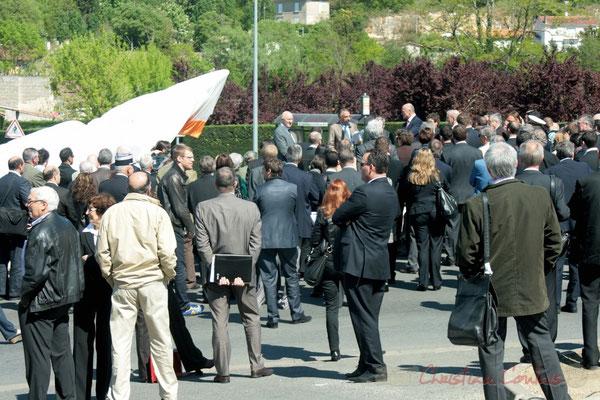 Inauguration de l'Aéroccampus Aquitaine. Discours de Francis Delcros, Maire de Latresne