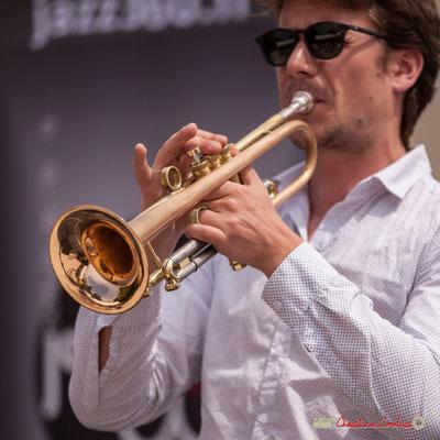 Paolo Chatet; Atelier Jazz du conservatoire Jacques Thibaud. Festival JAZZ360 2018, Quinsac. 10/06/2018